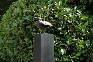 vogel vogels vogelbeelden Goldhoorn Gardens tuinontwerp lifestyle tuin design Bant