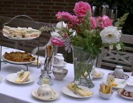 bollenroute bezoekerstuin goldhoorn tuinen arrangementen High Tea